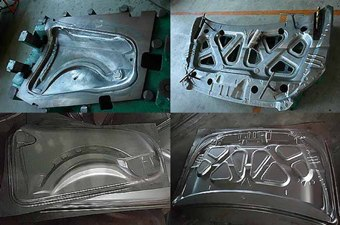 Metal Deep Drawing Car Panel