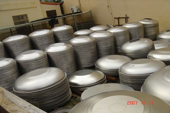 Stainless Steel Water Tank Covers, stainless steel tankLids, stainless steel tank Caps