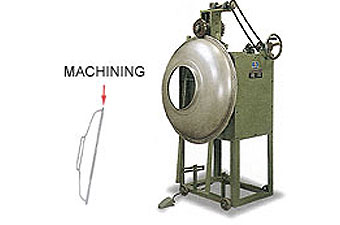 Trimming Machine For Water Tank Cover Edge